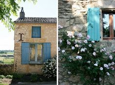 Shantygirl: French Blue doors and shutters