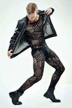 men outfits - Non Binary Fashion Inspiration 79 Fazhion Look Fashion, High Fashion, Fashion Design, Edgy Mens Fashion, Herren Body, Collage Foto, Moda Casual, Hommes Sexy, Mode Style