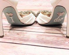 Stickers de chaussure de mariage