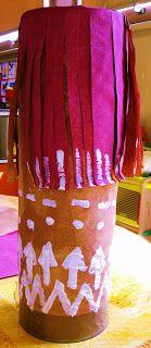 Voici le prototype de nos tambours (nous allons en faire une dizaine) : les grandes boîtes de conserve de la cantine, scotchées par deux pou... Tambour, Childhood, Voici, Pirates, Ps, Crafts, Education, School Fair, Illustrated Recipe