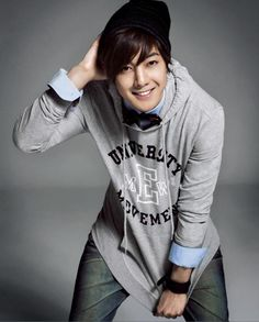 Kim Hyun Joong...love him and his smile...