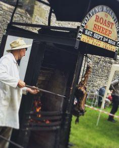 Beef roast on the sheep roast May'16