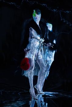 Paper Magazinemodel - Skyestylist - B Akerlundmake-up - Lottiehair - Danilophoto - Ekaterina Belinskaya Futuristic Fashion Editorial, Rupaul, Archetypes, Larp, Beautiful Creatures, Dark Side, Beautiful Images, Goth, Darth Vader