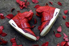 """ea560421bdd """"Red October"""" Nike Air Yeezy 1 Customs"""