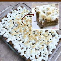 S'mores Cookie Bars dessert
