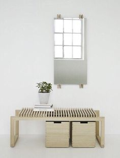 Danish design company with roots deeply grounded in Scandinavian design and tradition for good craftsmanship. Hall Furniture, Danish Furniture, Furniture Design, Making A Bench, Danish Design Store, Scandinavian Home, Solid Oak, Minimalist Design, Interior Styling
