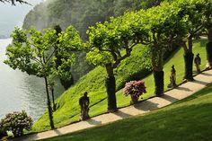 http://www.visitfai.it/villadelbalbianello/photogallery Villa del Balbianello #lenno #lakecomo #italy #balbianello