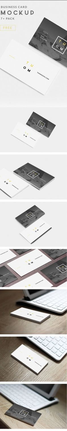 7+ Clean Business Card Mo-ckup Psd