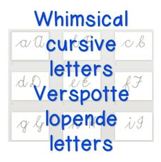 Screen Shot at Cursive Alphabet, Cursive Letters, Letter D, White Pages, Screen Shot, Handwriting, Whimsical, About Me Blog, Teacher