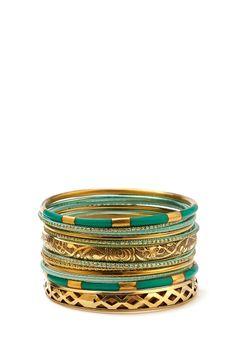 Gone Boho Bangle Set | FOREVER21 #Accessories #Bracelet