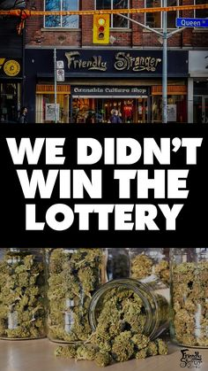 While we are disappointed to not be one of the lucky winners of the recent lottery we want to congratulate those that did win.  We would also like to offer our 25 years of experience in the cannabis industry to any of the winners that are looking for guidance and collaboration in hitting the April 1st date. Winning The Lottery, April 1st, Disappointed, Cannabis, Collaboration, World, The World, Ganja, Earth