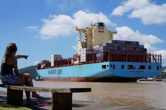 Navios cargueiros que aportam no Complexo Portuário de Itajaí:imagem 7