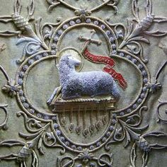 lamb on chasuble