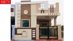 east facing 2 bhk independent house for sale in hyderabad boduppal updated) House Front Wall Design, House Outer Design, House Arch Design, Single Floor House Design, Modern Small House Design, Village House Design, Home Building Design, Bungalow House Design, 2bhk House Plan