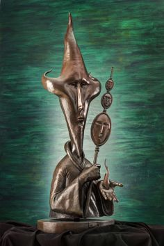 """Made by: Sergio Bustamante - Bronzes , """"The Fire of Fanity"""""""