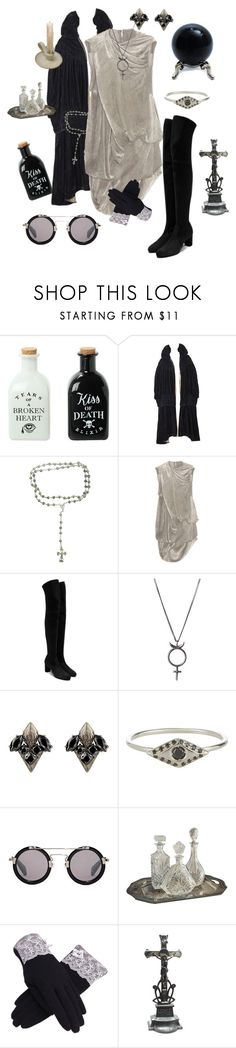 """Occult Agencies"" by vulture95 ❤ liked on Polyvore featuring Rick Owens, Casadei, Rachel Entwistle, Fallon, Wendy Nichol, Yohji Yamamoto and Vintage"