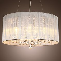 Beautiful Drum Chandelier