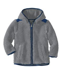 Take a look at this Cobblestone Chill Chaser Sherpa Coat - Infant, Toddler & Boys by Hanna Andersson on #zulily today!