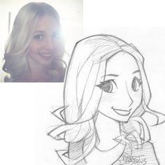 Blondie2992 Sketch by Banzchan on @DeviantArt
