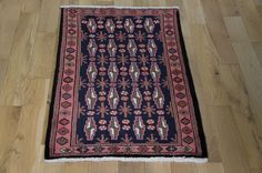 Hand Knotted Hamadan Rug from Iran (Persian). Length: 120.0cm by Width: 77.0cm. Now only £125 (Was £149) at https://www.olneyrugs.co.uk/shop/rugs-for-sale/persian-hamadan-19584.html    Take home one of our gorgeous variety of Persian rugs, kilim ottomans and Kilim cushions at www.olneyrugs.co.uk