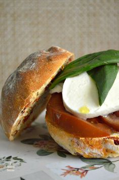 Receta de Sandwich Caprese