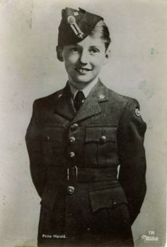 Prince Harald , future King Harald V. Of Norway *1937