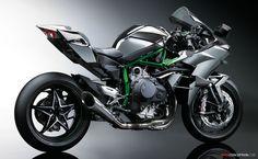 Kawasaki Reveals 296 BHP Ninja H2R Hyperbike