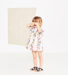 ZARA - KIDS - TROPICAL PRINT DRESS