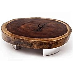 Tree Trunk Coffee Table www.brandwave.org