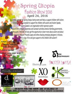 Come show some support to the children and too the local designers here in Arizona! ! ! !