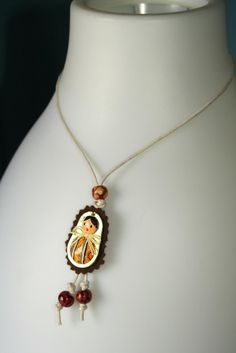 matrioskas necklace