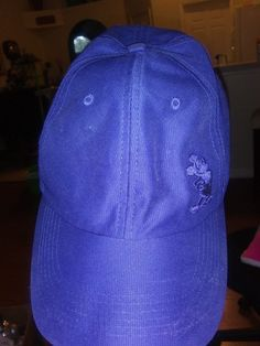 5feaf5dd2e9255 Walt Disney World MICKEY MOUSE Blue & Silver Kid's Adjustable Baseball  Cap Hat #fashion