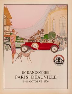 MARCUS. 10e Randonnee, Paris - Deauville. 9 - 11 Octobre. – Sotherans