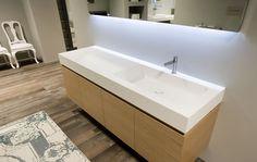 Arco Countertop crafted by Antonio Lupi and created by Nevio Tellatin   via Furniture Fashion Bad Inspiration, Bathroom Fixtures, Bathroom Sinks, Shower Systems, Beautiful Bathrooms, Bathroom Furniture, Master Bathroom, Countertops, Home Improvement