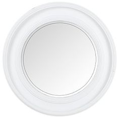 Brissi New England Mirror, White, Dia.78cm