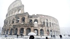 winter in Colosseum
