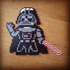 Darth Vader - Star Wars hama beads by amphrax