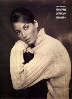 Christy Turlington by Paolo Roversi and Anne-Séverine Liotard for Vogue Paris may 1992