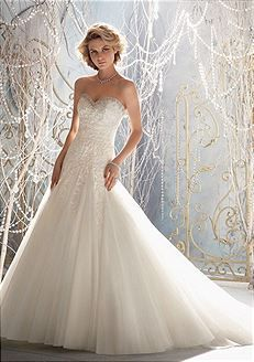 Bridal Gowns Mori Lee 1964 Bridal Gown Image 1