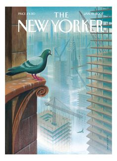 The New Yorker Cover - January 15, 2007 Giclee Print by Eric Drooker at Art.com