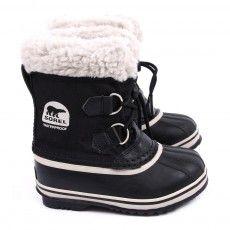 Nylon Pac after ski shoes - Black