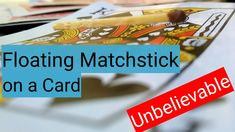 Card Tricks, Projects, Cards, Log Projects, Blue Prints, Maps, Playing Cards