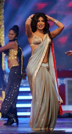 Priyanka Chopra in Sexy Sarees