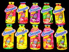 All Snapple (naughty-but-nice) Tags: food makeup snapple drinks packaging lip gloss beverages balm