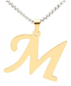 14k Gold Ruby July Birthstone Cursive Letter K Dog-tag Necklace