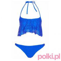 Strój kąpielowy powiększający mały biust, Topshop #polkipl