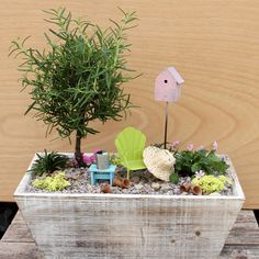 Make your garden more appealing for magical visitors with this adorable DIY fairy garden.