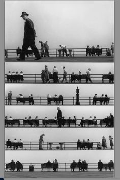 Boardwalk sheet music, 1950 by Harold Feinstein