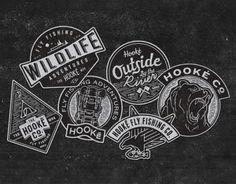 """Empfohlenes @Behance-Projekt: """"Wildlife & Adventures Badges"""" https://www.behance.net/gallery/14097381/Wildlife-Adventures-Badges"""