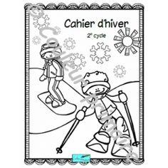 Cahier d'activités de l'hiver et de la Saint-Valentin. 2e cycle Cycle, Activities, Boutique, School Resources, Winter, Boutiques